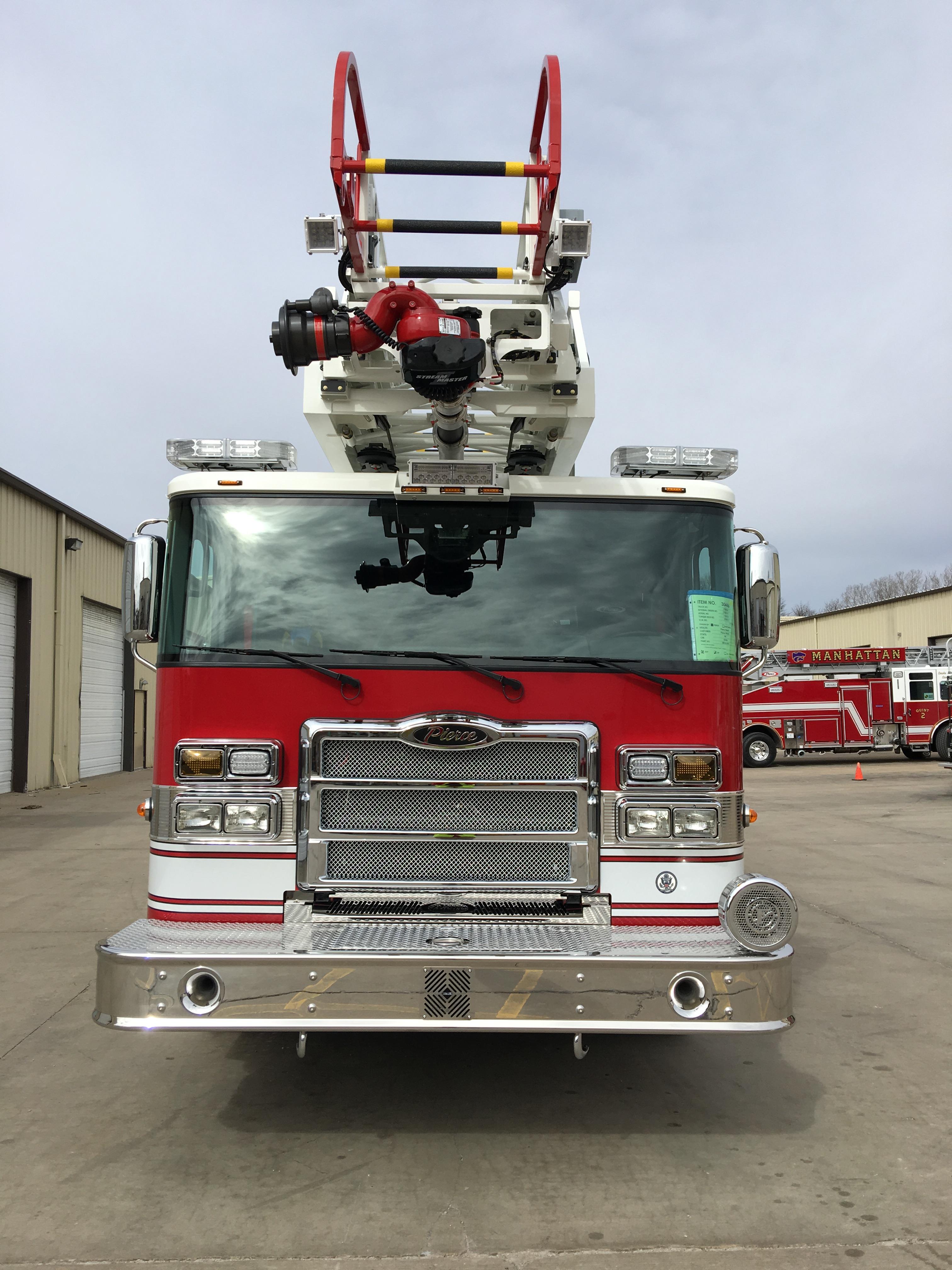 Pierce Enforcer 107 Ascendant Fire Truck Emergency