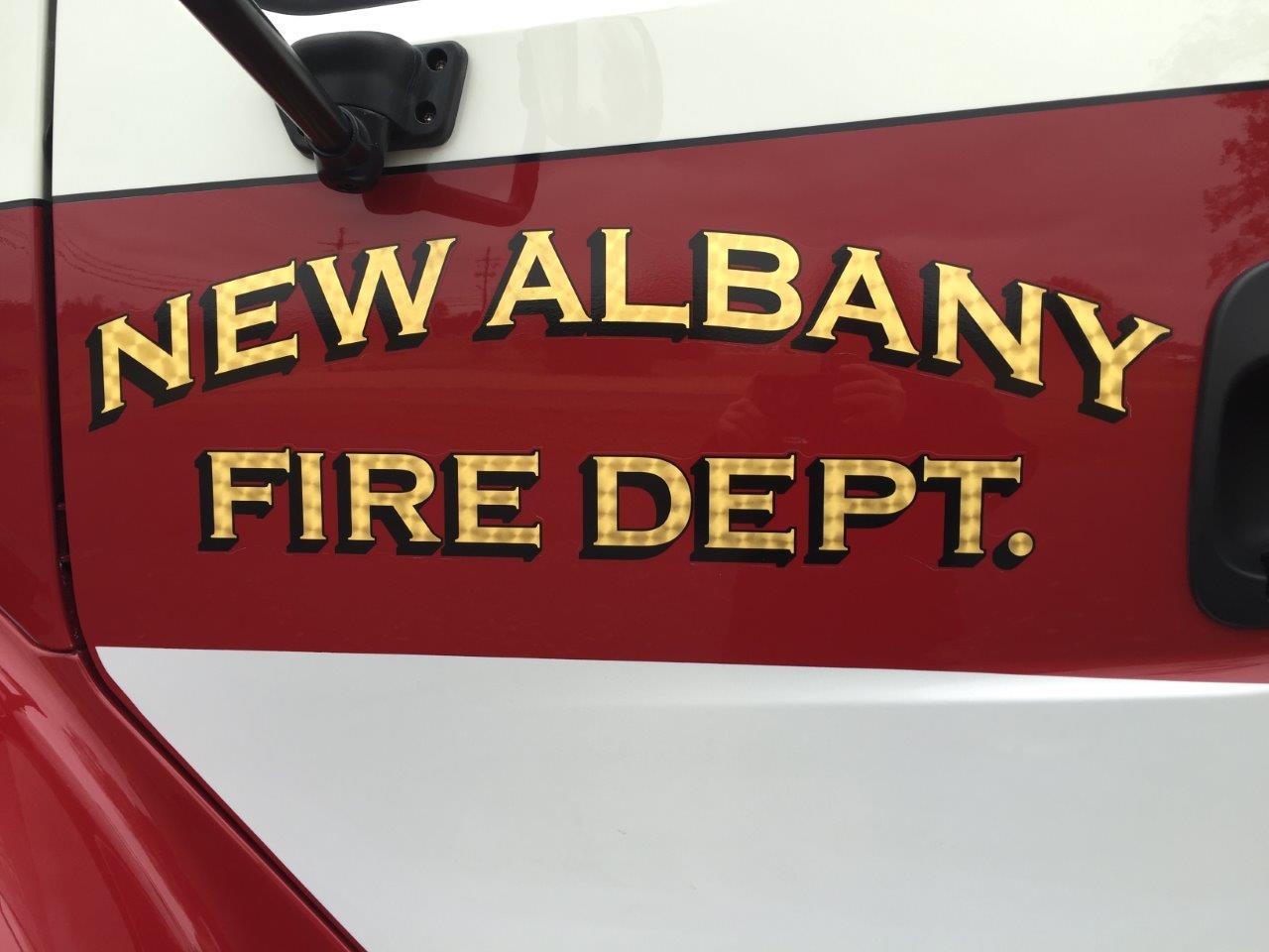 New Albany graphics