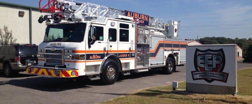 Pierce Velocity 75′ HAL to Auburn Fire Department
