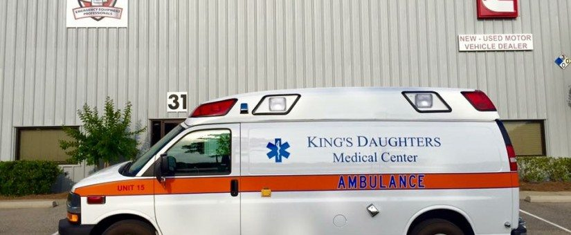 Demers Chevy LT2 Ambulance to King's Daughters Medical Center MS