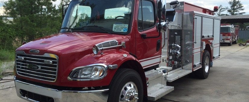 Pierce Freightliner Commercial Pumper Fire Truck
