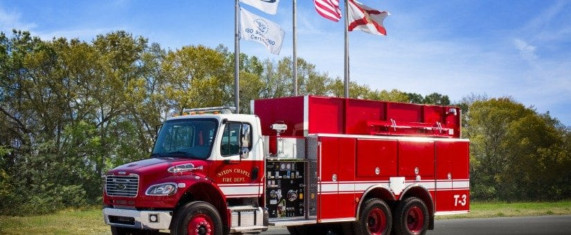 Pierce Freightliner Tanker Pumper to Nixon Chapel Fire Department