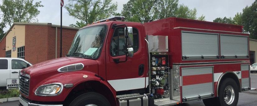 Pierce Freightliner FXP Commercial Tanker Fire Truck