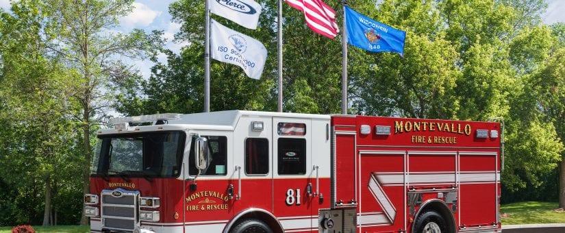 Pierce Enforcer PUC Pumper to Montevallo Fire Department