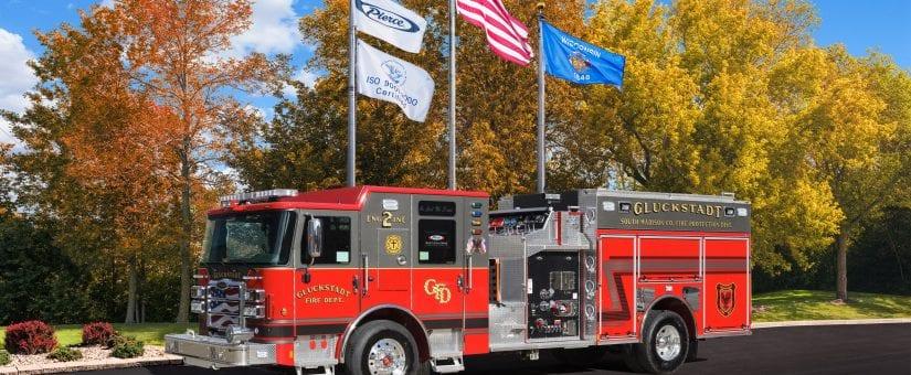 Pierce Enforcer Pumper to Gluckstadt Fire Department