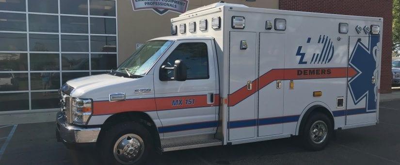 Demers E-350 MX151 Type III Ambulance