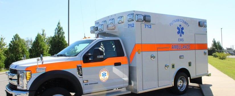 Braun F-450 Express Plus Type I Ambulance to Putnam County EMS