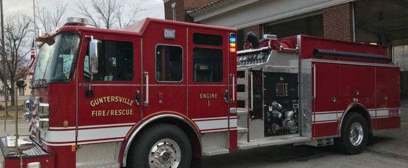 Pierce Saber Pumper to Guntersville Fire Department