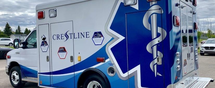 Crestline CCL150 Ford E-350 Type III Ambulance