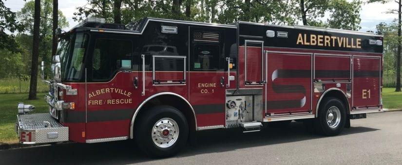 Pierce Dash CF PUC Pumper to Albertville Fire Department