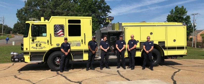 Pierce Enforcer Pumper to Ridgeland Fire Department