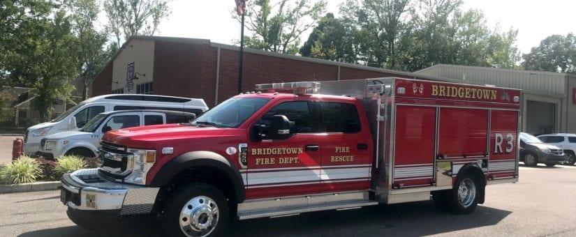 Pierce Mini-Pumper to Bridgetown Fire Department