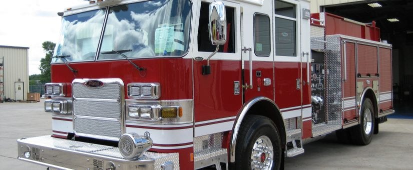 Pierce Arrow XT Custom Pumper Fire Truck
