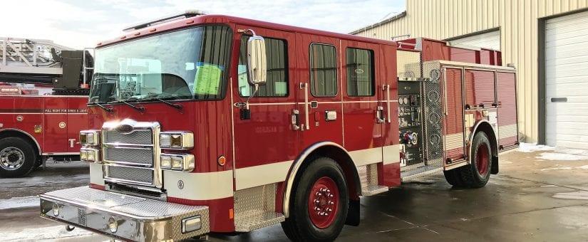 Pierce Enforcer Pumper Fire Truck