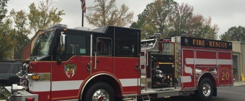 Pierce Impel Custom Pumper to Cleveland Fire Department